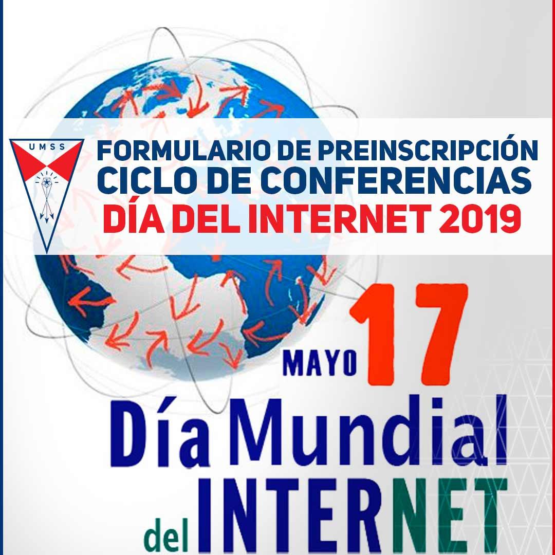 Conferencias por el dia del Internet UMSS