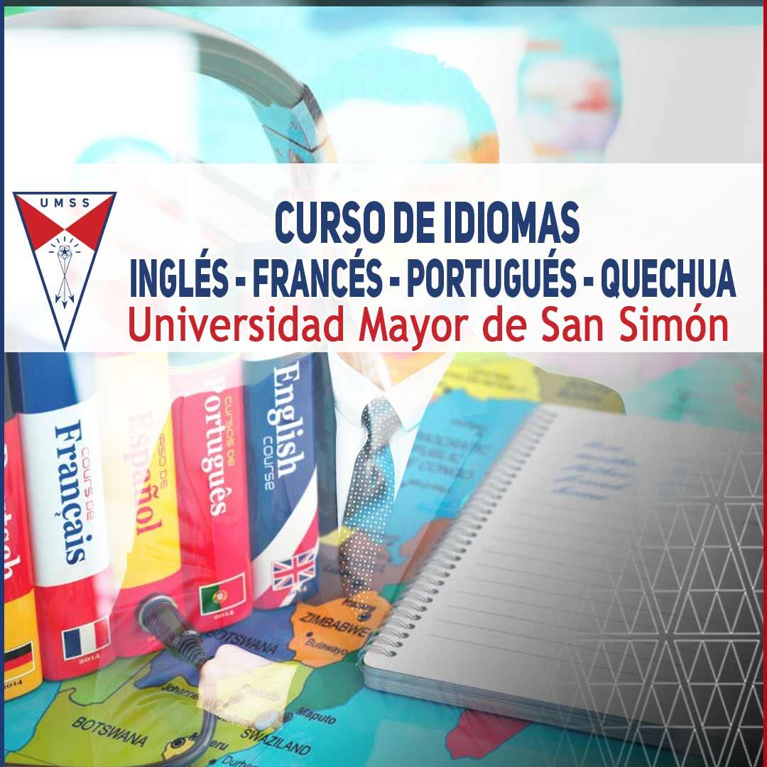 Curso De Idiomas Fac Humanidades Y Cs De La Educacion Universidad Mayor De San Simon
