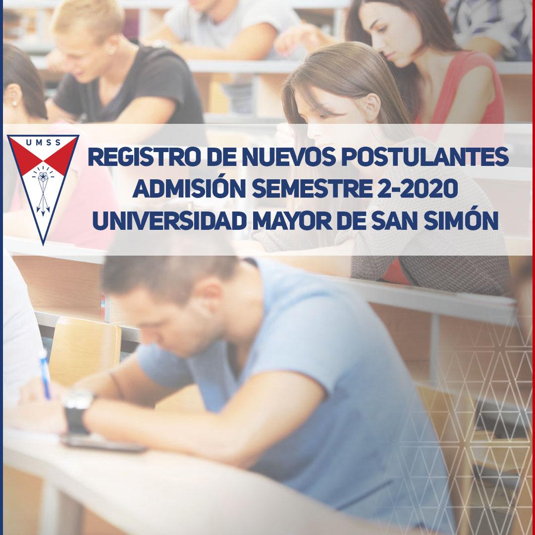 Blog Nuevos Postulantes 2-2020 UMSS